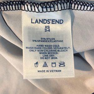 Lands' End Swim - Lands end Rashguard swimsuit top